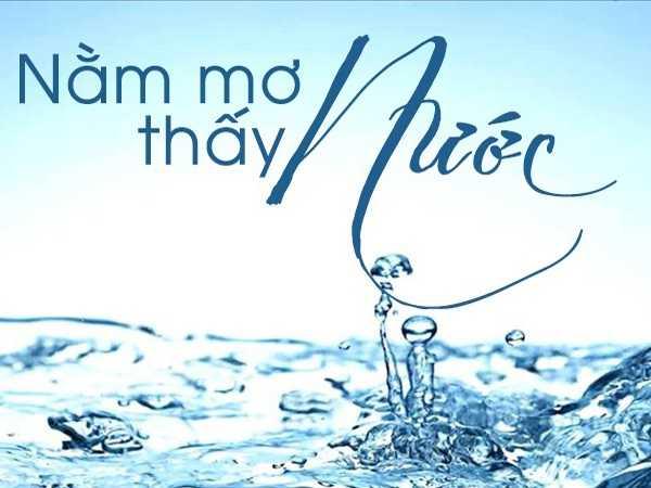 mơ thấy nước