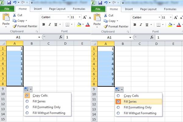 Cách đánh số thứ tự trên Excel