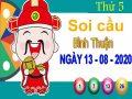 Soi cầu XSBTH ngày 13/8/2020 – Soi cầu KQXS Bình Thuận thứ 5