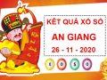 Soi cầu kết quả SX An Giang thứ 2 ngày 26/11/2020
