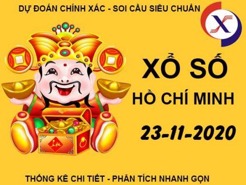 Soi cầu số đẹp XS Hồ Chí Minh thứ 2 ngày 23/11/2020