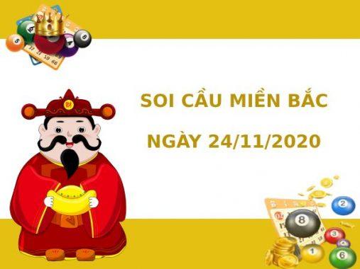 Soi cầu XSMB chính xác thứ 3 ngày 24/11/2020