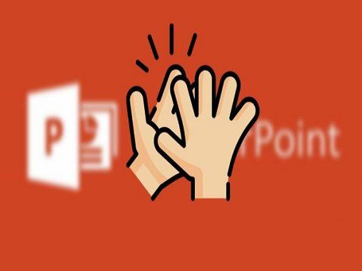Cách chèn tiếng vỗ tay trong powerpoint đơn giản