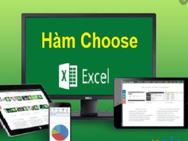 Hàm Choose trong excel có công thức và cách sử dụng như nào?