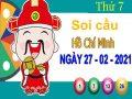 Soi cầu XSHCM ngày 27/2/2021 – Soi cầu xổ số Hồ Chí Minh thứ 7