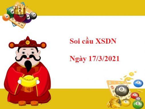 Soi cầu  XSDN 17/3/2021 – Soi cầu xổ số Đồng Nai thứ 4 siêu chuẩn