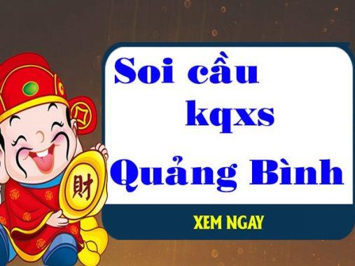Soi cầu XSQB 13/5/2021 soi cầu bạch thủ xs Quảng Bình hôm nay