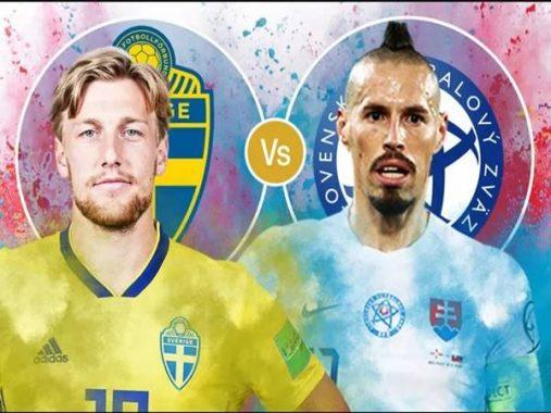 Nhận định kèo Thụy Điển vs Slovakia, 20h00 ngày 18/6 VCK Euro