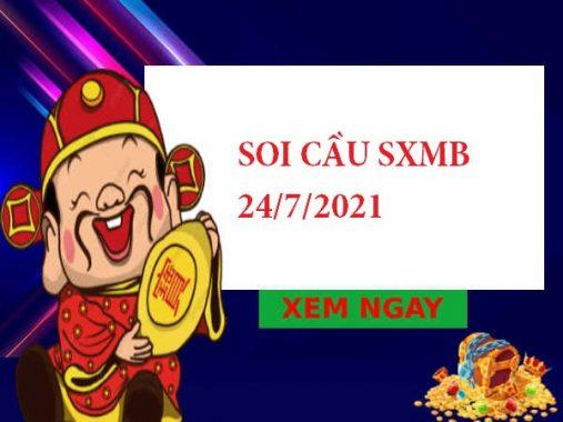 Soi cầu thống kê SXMB 24/7/2021 thứ 7