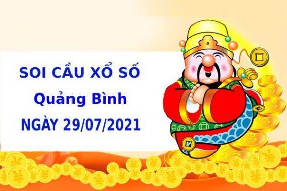 Soi cầu xổ số Bình Định 29/7/2021 hôm nay chính xác
