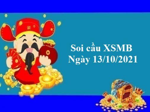 Soi cầu XSMB 13/10/2021 – Chốt số đẹp MB thứ 4
