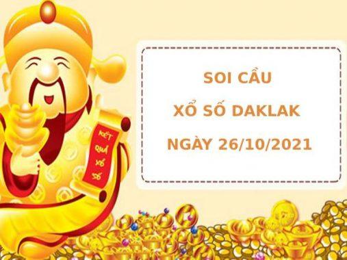 Soi cầu XSDLK ngày 26/10/2021 hôm nay thứ 3 chính xác